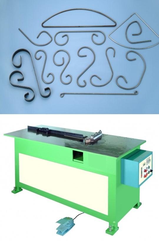 scroll bending machine